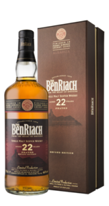 BenRiach Albariza 22 Year Old Single Malt Scotch Whisky- 70cl 46%