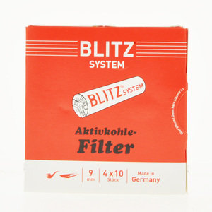 Blitz System 9mm Pipe Filters Pack of 40