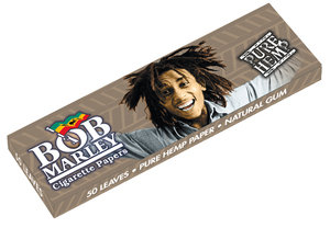 Bob Marley Medium 1 1/4 Size Rolling Papers