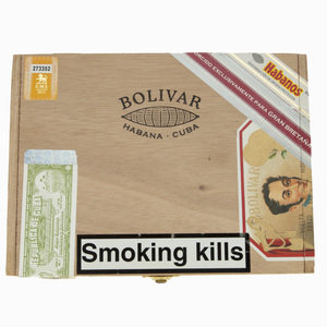 Bolivar Britanicas Exclusivo Gran Bretaña 2012 Release - Box of 10