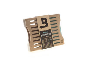 Boveda 4 Pack Stacked Wooden Holder