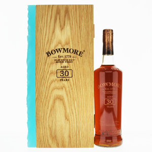 Bowmore 30 Year Old 2020 Release Single Malt Scotch Whisky - 70cl, 45.3%