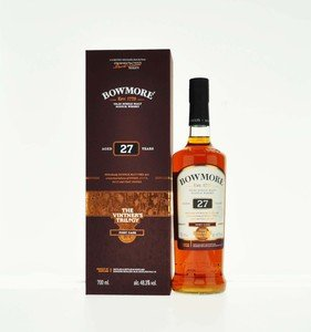 Bowmore Vintners Trilogy 27 Year Old Port Cask Single Malt Scotch Whisky - 70cl, 48.3%