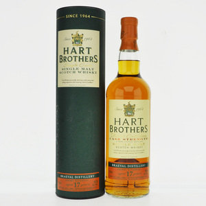 Braeval 1998 17 Year Old Sherry Hogshead Hart Brothers Single Malt Scotch Whisky - 70cl, 58.5%