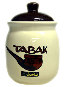Brebbia Ceramic Tobacco Jar - capacity approx 200g