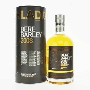 Bruichladdich Bere Barley 2008 Single Malt Scotch Whisky - 70cl, 50% Vol.
