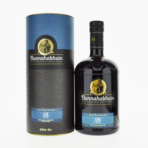 Bunnahabhain 18 Years Old Single Malt Scotch Whisky - 70cl, 46.3% vol.