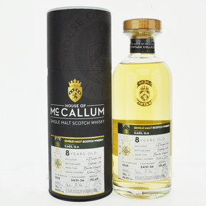 Caol Ila 8 Year Old House of McCallum Vintage Single Malt Scotch Whisky - 70cl, 46.5% vol.
