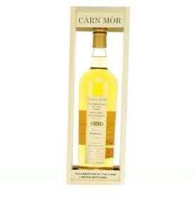 Carn Mor Celebration of the Cask Benriach 1990 Single Malt Scotch Whisky (70cl, 49.8%)