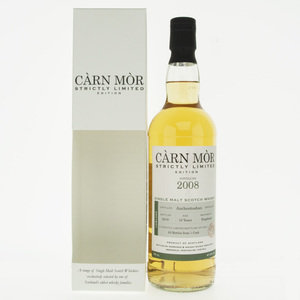 Carn Mor Strictly Limited Auchentoshan 2008 10 Year Old Single Malt Scotch Whisky - 70cl, 47.5%