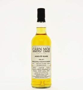 Carn Mor Strictly Limited Caol Ila 8 Year Old Single Malt Scotch Whisky - 70cl, 46%