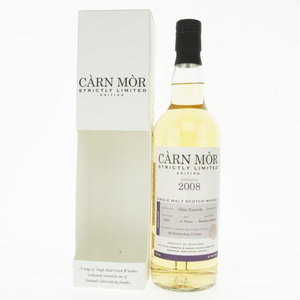 Carn Mor Strictly Limited Glen Garioch 2008 11 Year Old Single Highland Malt Scotch Whisky - 70cl, 47.5%