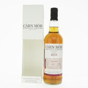 Carn Mor Strictly Limited Glentauchers 2010 9 Year Old Single Malt Scotch Whisky - 70cl, 47.5%