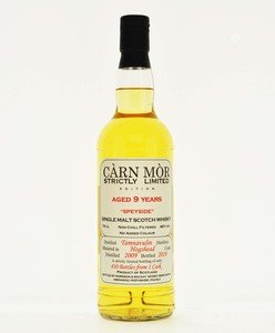 Carn Mor Strictly Limited Tamnavulin 9 Year Old Single Malt Scotch Whisky - 70cl, 46%