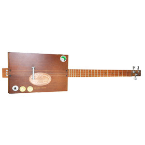 Casa Turrent Cigar Box 3-String Diddley Bow Guitar