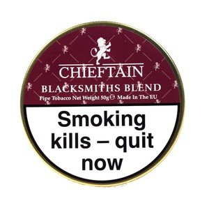 Chieftain Blacksmiths Blend Pipe Tobacco - 50g tin