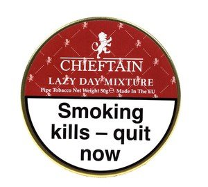 Chieftain Lazy Day Pipe Tobacco - 50g tin