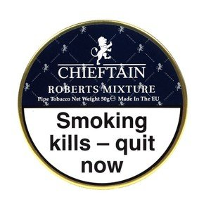 Chieftain Roberts Mixture Pipe Tobacco - 50g tin