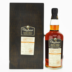 Chieftain's Cigar Malt 14 Year Old Single Speyside Malt Scotch Whisky - 70cl, 59%