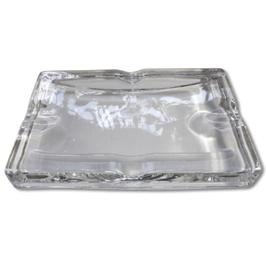 Cadogan Glass Cigar Ashtray - 4 rests