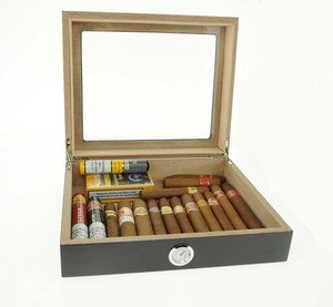 Cuban Cigar & Humidor Gold Bundle