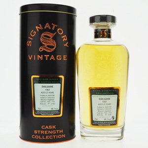 Dailuaine 1997 22 Year Old Signatory Vintage Single Malt Scotch Whisky  - 70cl, 46.1%