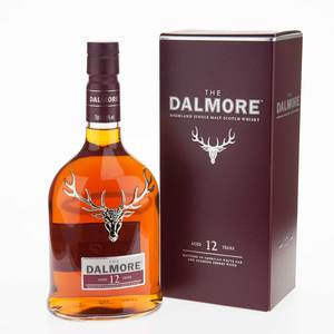 Dalmore Single Malt Scotch Whisky 12 Year Old 40% Vol 70Cl