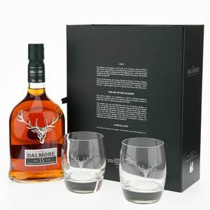 Dalmore 15 Year Old Single Malt Scotch Whisky Gift Set 70cl 40%