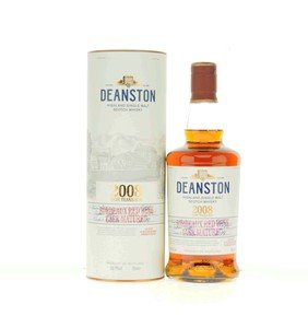 Deanston 2008 9 Years Old Bordeaux Red Wine Cask Matured Single Malt Scotch Whisky 58.7% 70Cl