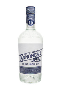 Edinburgh Gin Navy Proof Cannonball 70cl 57.2%