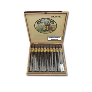 El Credito Churchills Maduro Cigar - Box of 10