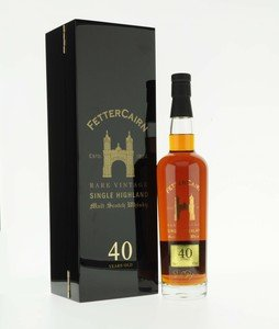 Fettercairn 40 Year Old Single Malt Scotch Whisky - 70cl, 40%