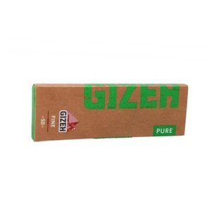 Gizeh Pure Fine Hemp Regular size Rolling Papers - 1 pack