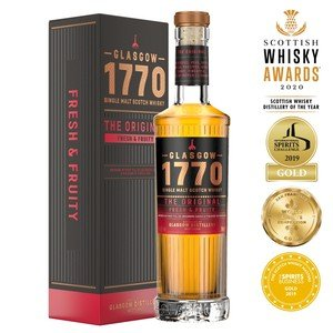 Glasgow 1770 The Original Single Malt Scotch Whisky - 50cl, 46% vol.