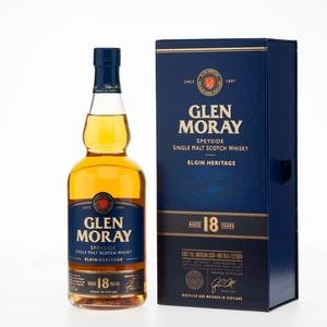Glen Moray Elgin Heritage Single Scotch Malt Whisky 18 Year Old 47.2% Vol 70Cl