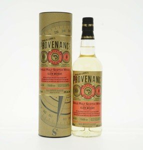 Glen Moray 8 Year Old Douglas Laing Provenance Single Malt Scotch Whisky - 70cl, 46% vol.