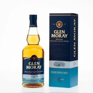 Glen Moray Single Malt Scotch Whisky Peated Classic 40% Vol 70Cl