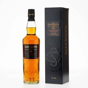 Glen Scotia Single Malt Scotch Whisky 15 Year Old 46% Vol 70Cl