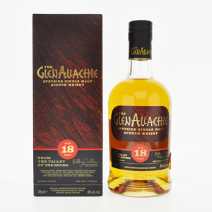 GlenAllachie 18 Year Old Speyside Single Malt Scotch Whisky 46% ABV 70cl