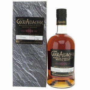 GlenAllachie 2001 18 Year Old Cask No. 4152 Single Malt Scotch Whisky - 70cl, 55.1% vol.