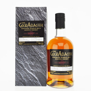 GlenAllachie 2007 11 Year Old Cask No. 1856 Single Malt Scotch Whisky - 70cl, 60% vol.