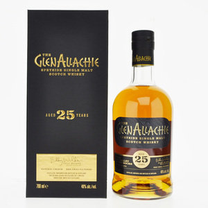 GlenAllachie 25 Year Old Speyside Single Malt Scotch Whisky 48% ABV 70cl