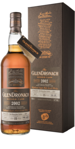 Glendronach 15 Year Old 2002 Single Cask #4648 Single Malt Scotch Whisky - 70cl, 54.7% vol.