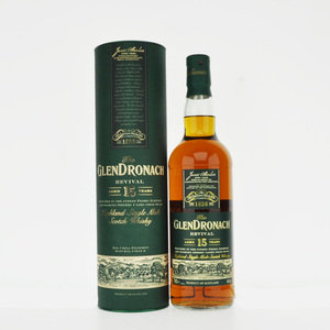 Glendronach 15 Year Old Revival Single Malt Scotch Whisky - 70cl, 46% vol.