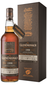 Glendronach 27 Year Old 1990 Single Cask #7902 Single Malt Scotch Whisky - 70cl, 52.1% vol.