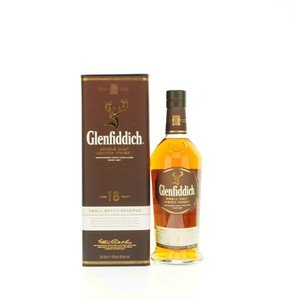 Glenfiddich 18 Years Old Single Malt Scotch Whisky - 70cl 43%