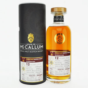 Glenrothes 12 Year Old House of McCallum Vintage Single Malt Scotch Whisky - 70cl, 46.5% vol.