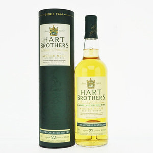 Glentauchers 1992 22 Year Old Hart Brothers Single Malt Scotch Whisky - 70cl, 54.8%