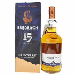 Glenturret Breabach 15  Year Old Single Malt Scotch Whisky - 70cl, 40% vol.