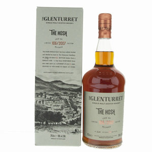 Glenturret The Hosh 13 Year Old Single Malt Scotch Whisky - 70cl, 59.4% vol.